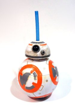 画像1: 2015 Disney Park Exclusive BB-8 Drink Sipper Mug Cup C-8.5/9