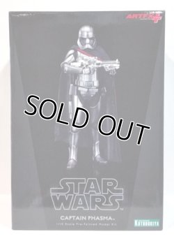 画像1: KOTOBUKIYA ARTFX+ 1/10 Captain Phasma Pre-Paintrd Model Kit C-8.5/9