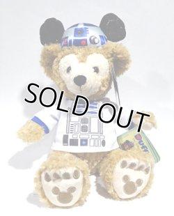"""画像1: 2016 Disney Theme Park Exclusive Plush 12""""Duffy R2-D2 Fan with Tag"""