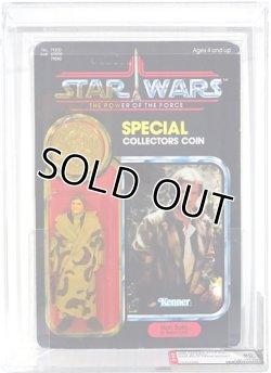 画像1: POTF 92 Back Han Solo (In Trench Coat) AFA 80Y #14435689