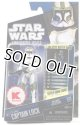 2010 The Clone Wars K-Mart Exclusive Captain Lock C-8.5/9