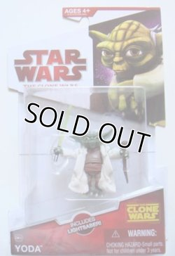 画像1: 2009 The Clone Wars CW14 Yoda C-8.5/9