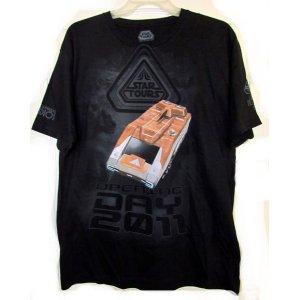 画像: Star Tours Opening Day 2011 Starspeeder 1000 T-Shirt (New)